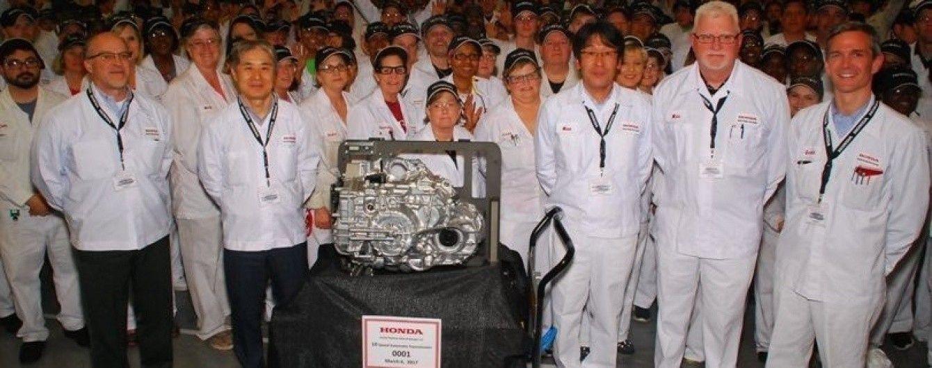 """Honda разработала новый 10-ступенчатый """"автомат"""""""