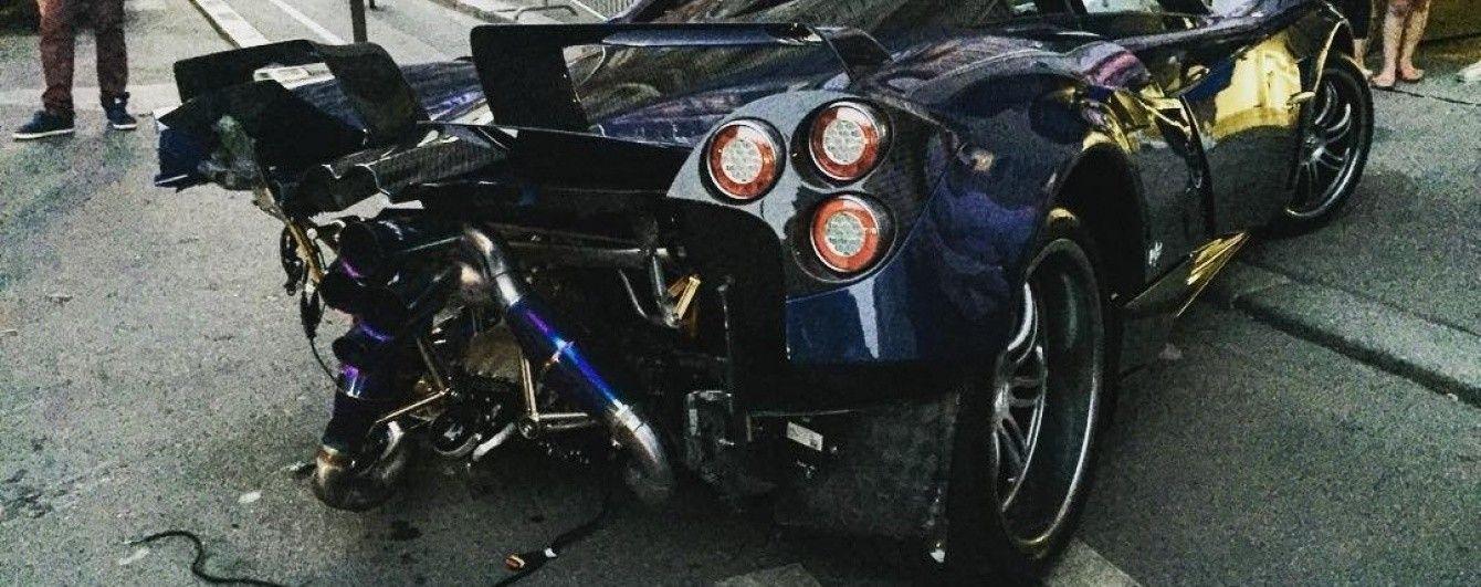 Pagani отремонтировала уникальный суперкар Huayra Pearl после ДТП