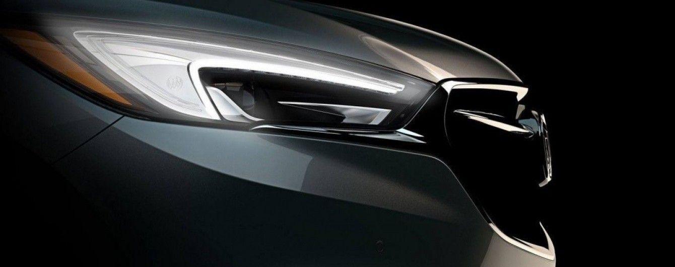 Buick опубликовал первый тизер нового вседорожника Enclave