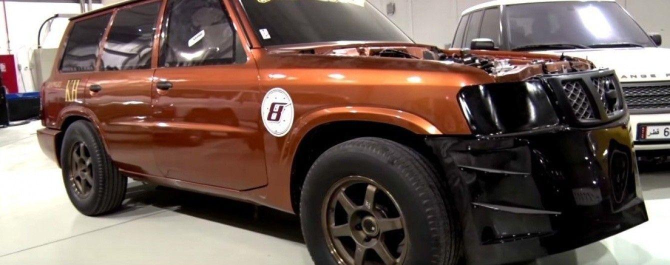 Внедорожник Nissan Patrol разогнался до 333,82 км/ч (Видео)