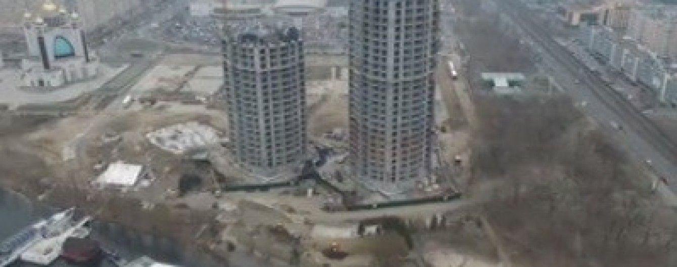 В Киеве возобновили скандальное строительство у Патриаршего храма на Никольской Слободке
