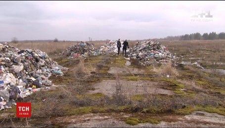 У Чорнобилі знайшли купи львівського сміття