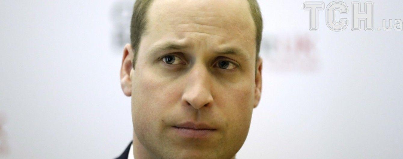 Принц Уильям нарушил королевский протокол из-за слез женщины