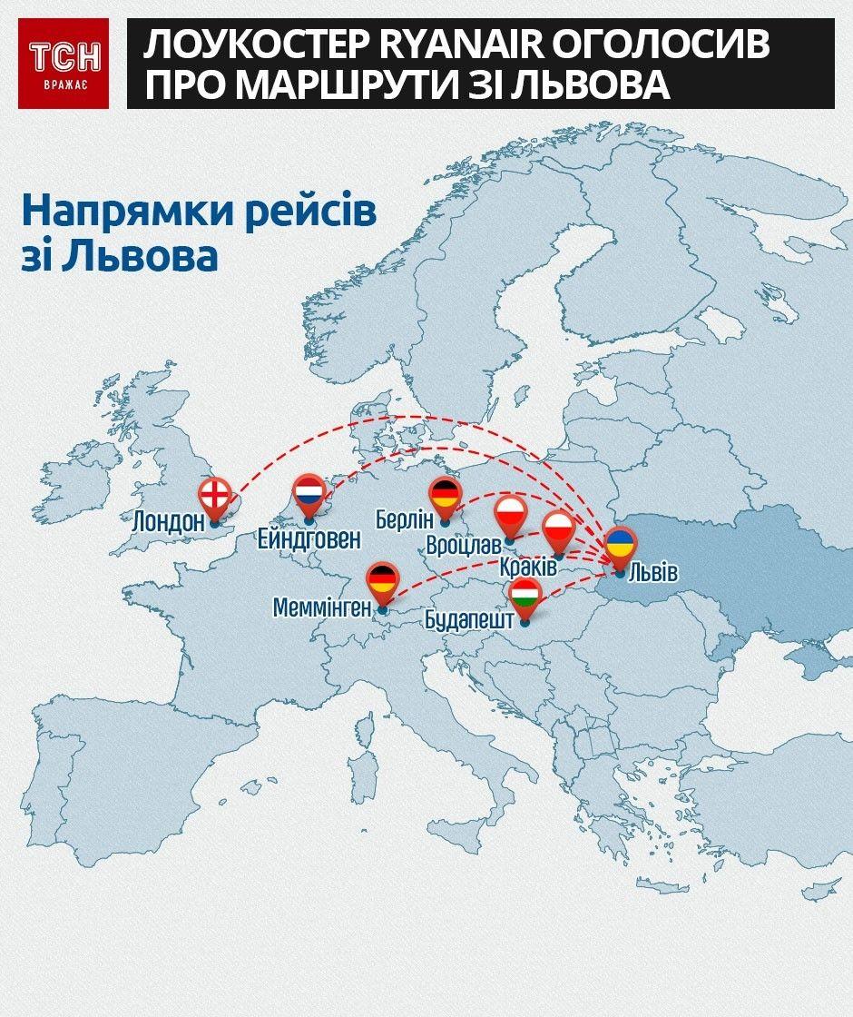 Ryanair зі Львова