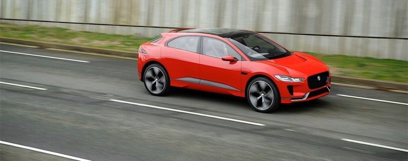 По улицам Лондона прокатился электрический кроссовер Jaguar I-Pace