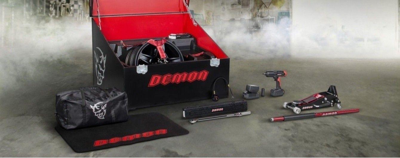 "Dodge ""открыл"" ящик с инструментами для Challenger SRT Demon"