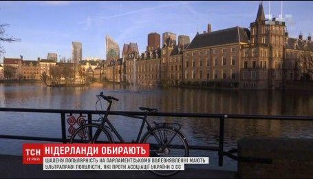 В Нидерландах будут выбирать новый парламент