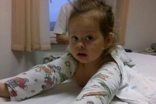 4-летняя Анюта нуждается в жертвенной помощи