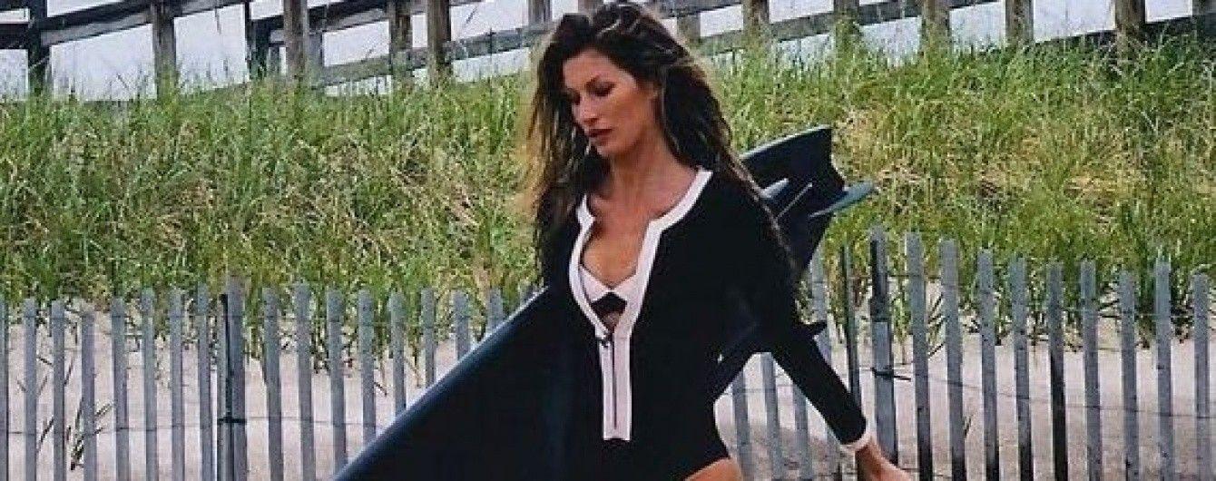 Соскучилась по лету: Жизель Бундхен поделилась пляжным фото