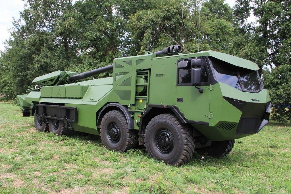 155-мм САУ «Caesar»