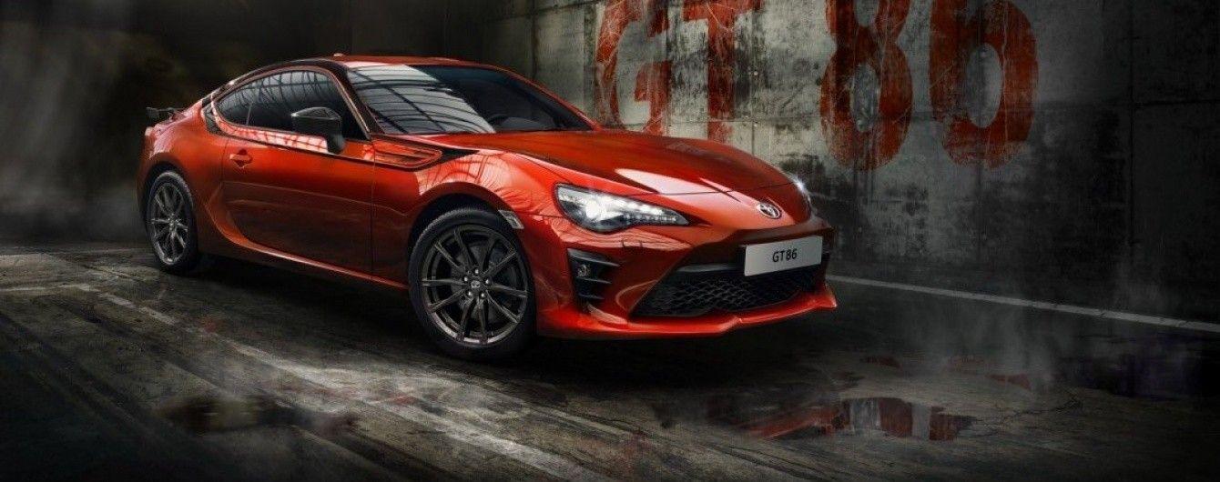 В Германии стартуют продажи особого купе Toyota GT86