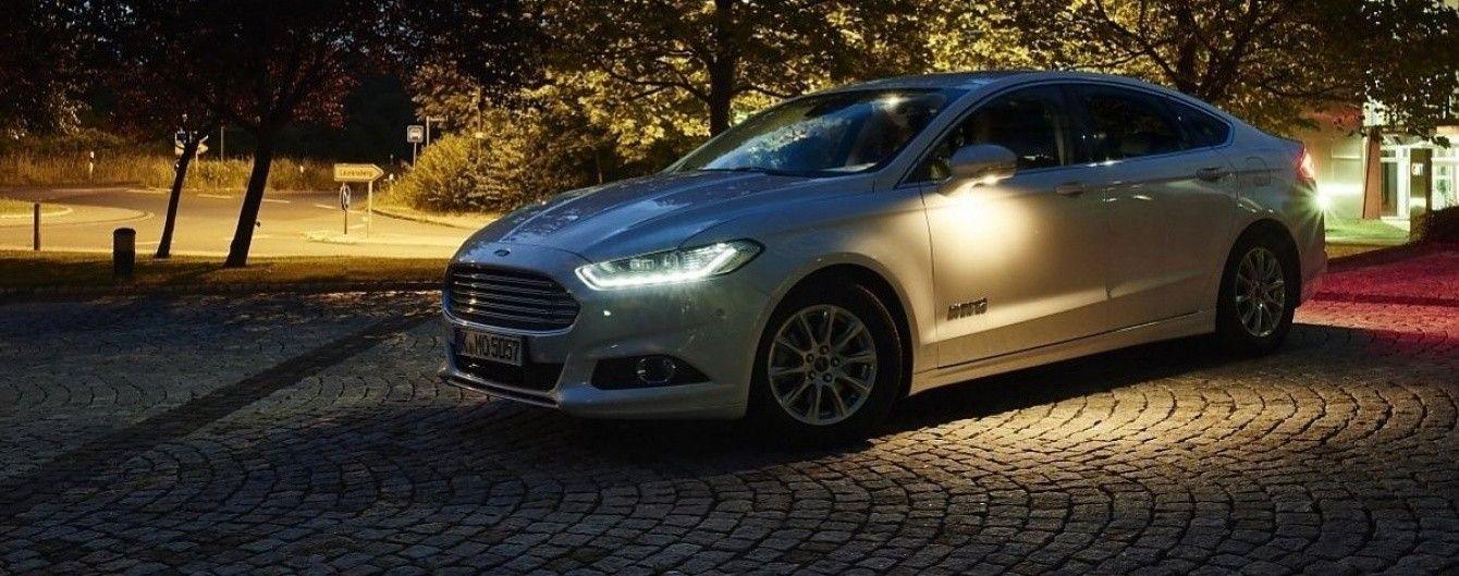 Автомобили Ford получат систему обнаружения пешеходов ночью