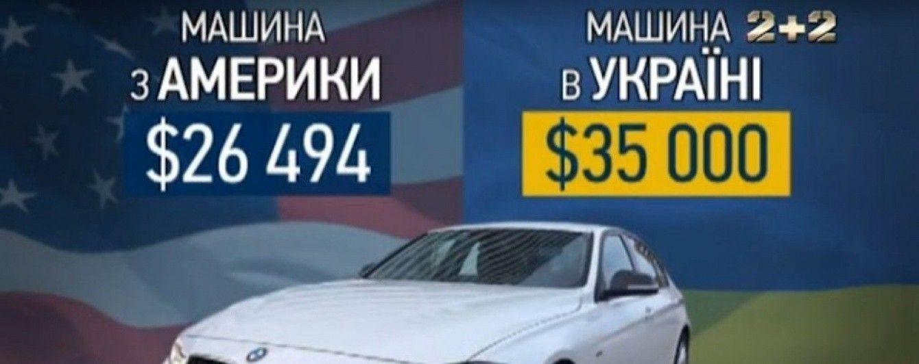Во сколько обойдется автомобиль из США