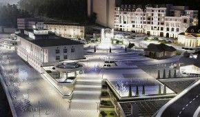 На Поштовій площі замість торговельного центру можуть побудувати музей