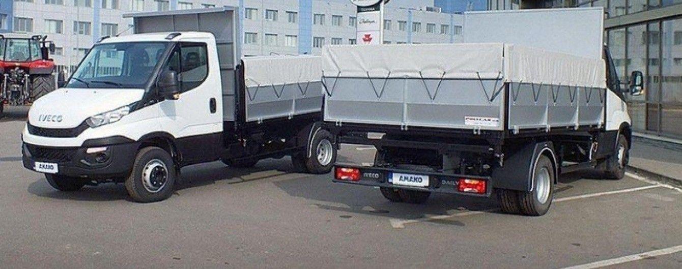 На украинском рынке появился компактный самосвал на шасси Iveco