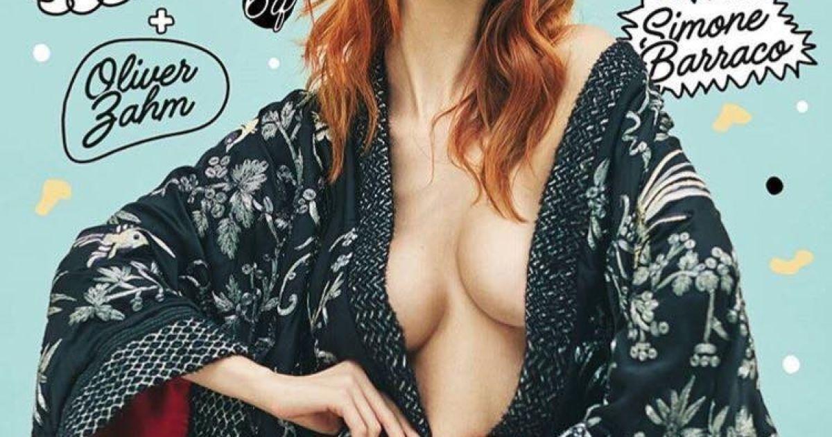 Валерия Радкевич на обложке Playboy @ playboy.it