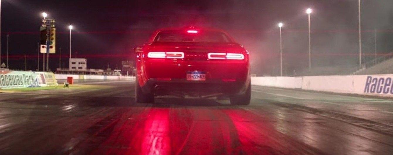 Dodge дал послушать звук мотора Challenger SRT Demon