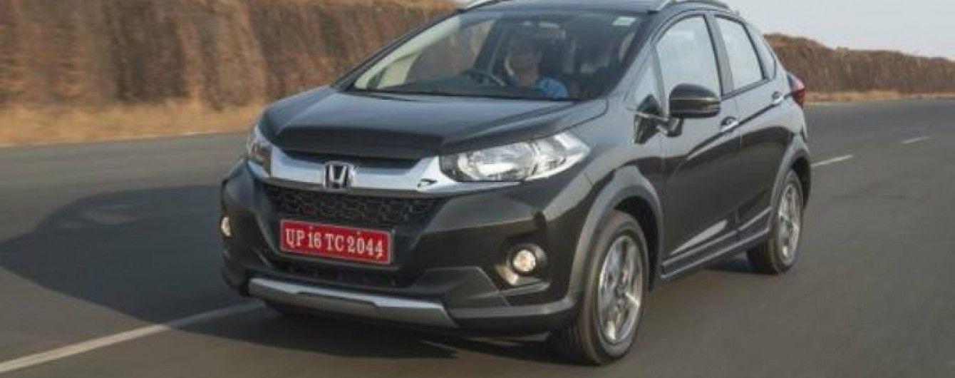 В Индии стартовали продажи нового кроссовера Honda WR-V