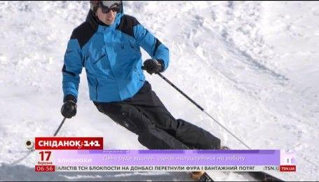 Принц Уильям отдыхал в Швейцарских Альпах с моделями