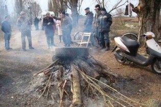 Экологическая катастрофа. На Волыни под открытым небом гниют трупы свиней и лошадей