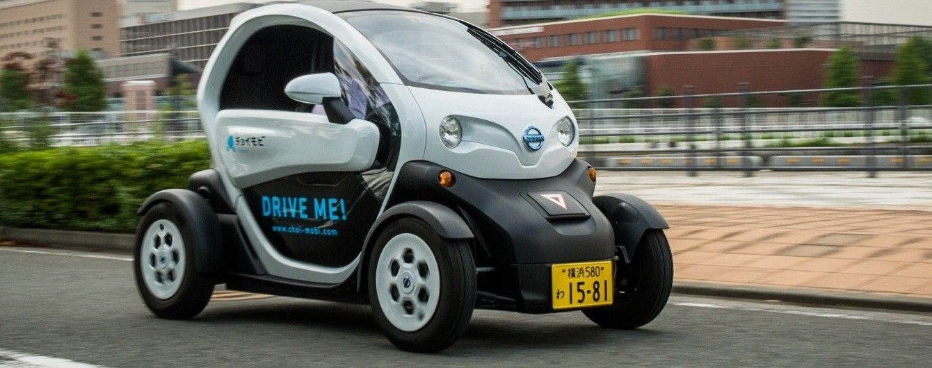 Nissan запустил в Японии каршеринговый сервис сверхкомпактных электромобилей