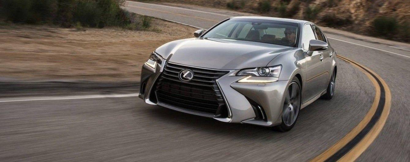 Lexus планирует исключить из модельного ряда седан GS