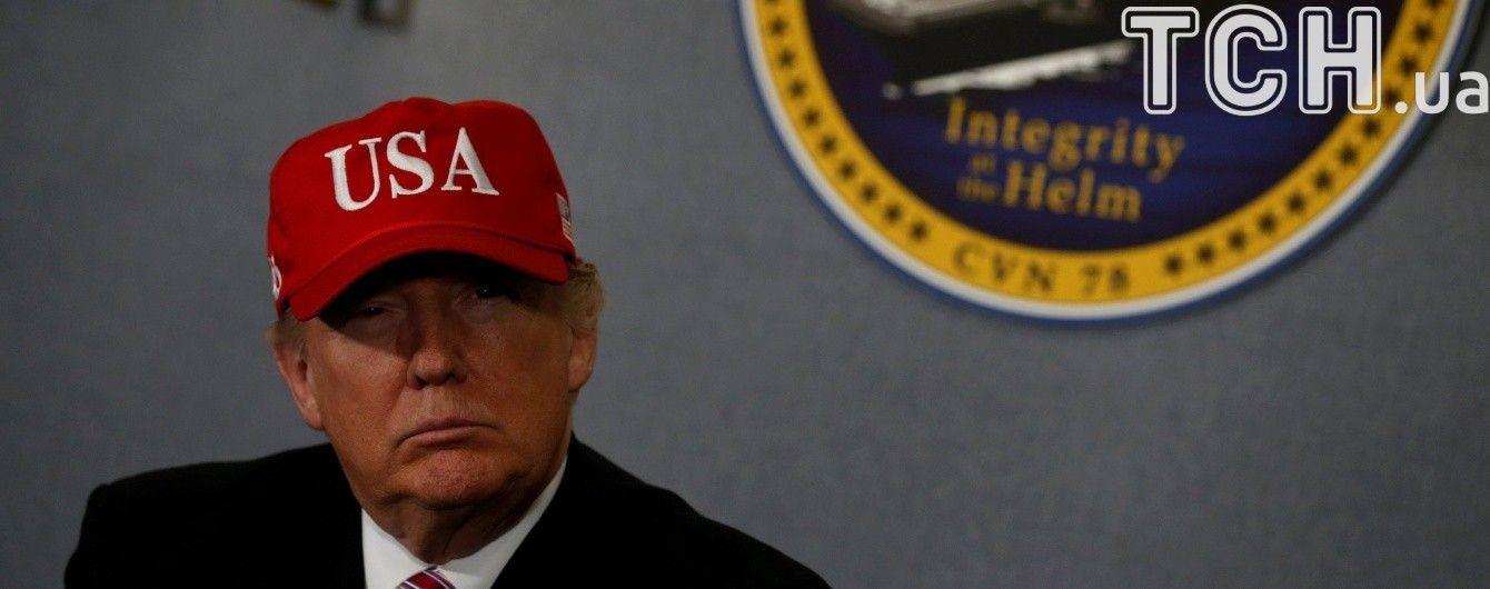 """Трамп заявил, что Северная Корея """"ведет себя очень плохо"""""""