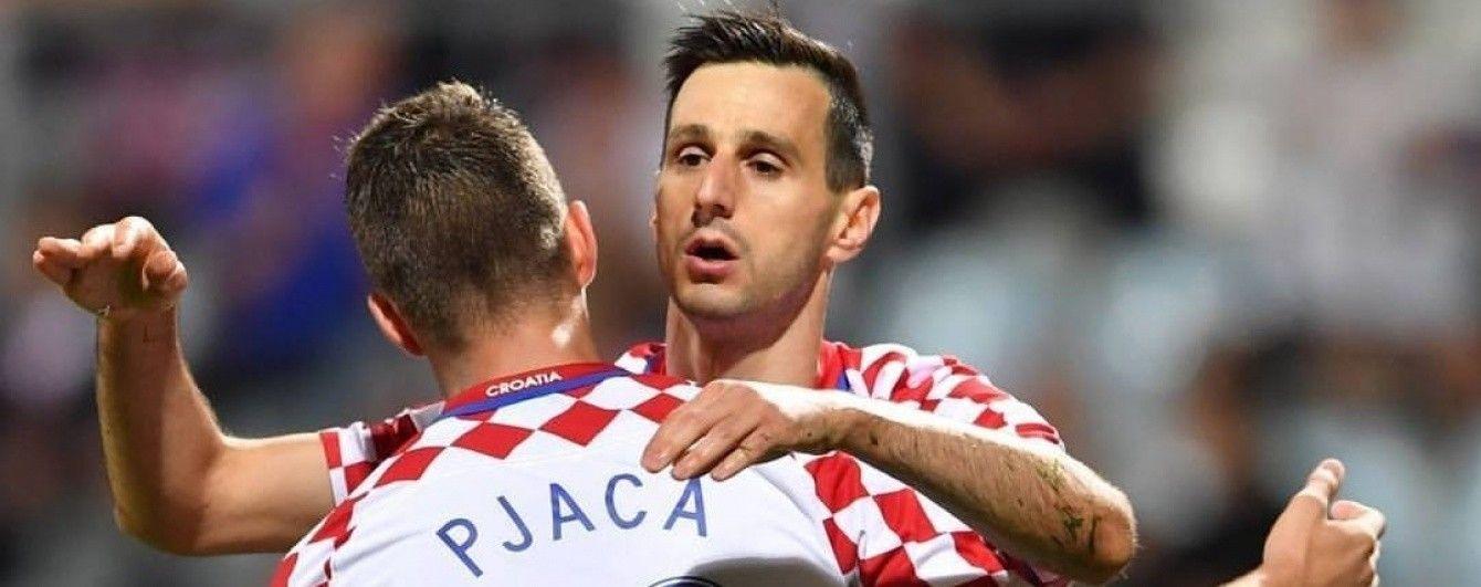 Сборная Хорватии объявила состав на битву с Украиной