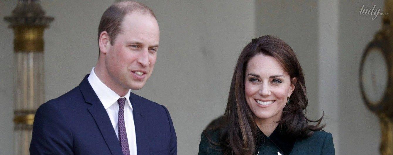 Выглядит прекрасно: герцогиня Кембриджская на встрече с президентом Франции