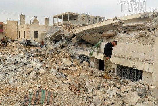 Внаслідок авіаудару Ізраїлю у Сирії загинули семеро іранців