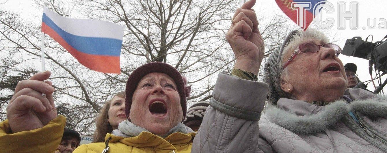 """Песков назвал аннексию Крыма """"причиной многих трудностей"""" в России"""