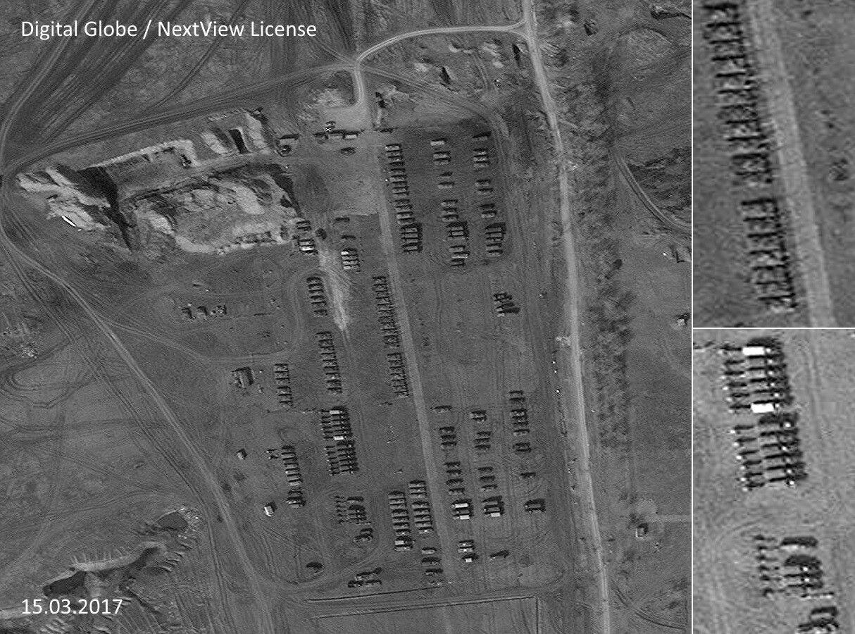 Bellingcat знайшла десятки одиниць важкої техніки бойовиків на Луганщині