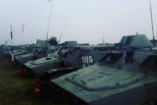 Bellingcat нашла десятки единиц тяжелой техники боевиков на Луганщине