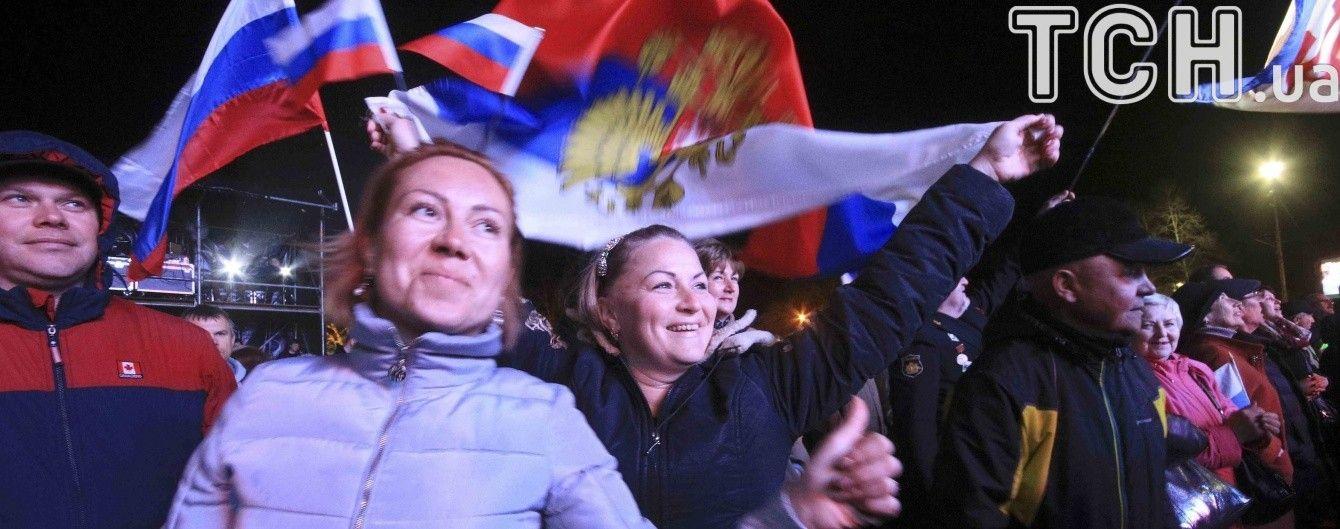 Используют как массовку. В Чечне рассказали о принудительном участии в митинге к 3-летию аннексии Крыма
