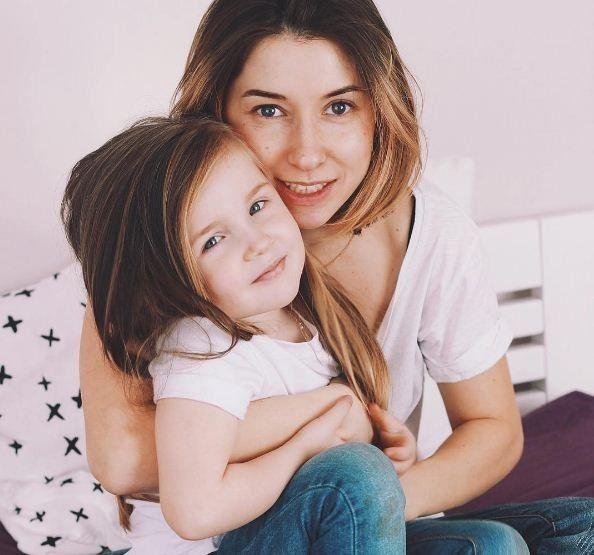 Донька та дружина Жені Галича