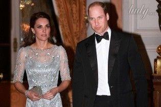 Блестящий выход герцогини: Кембриджи на балу в Британском посольстве во Франции