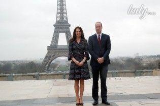 Кембриджи в Париже: герцогиня демонстрирует изысканный образ в наряде от Chanel