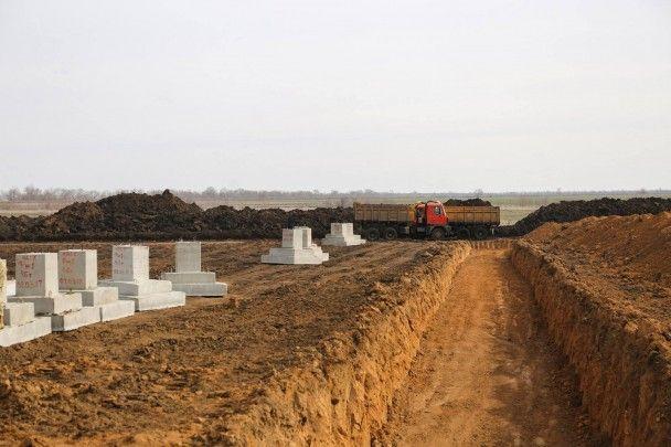 Под Николаевом начали строить бригадный лагерь стоимостью 370 миллионов гривен