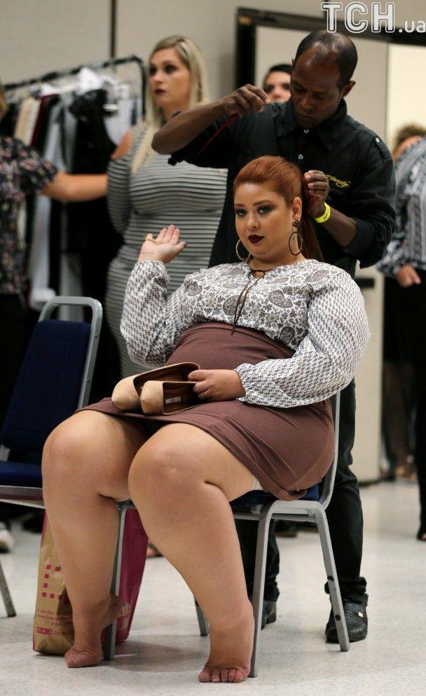 """Аппетитные девушки покоряют мир. В Бразилии стартовала неделя моды для женщин """"размера плюс"""""""