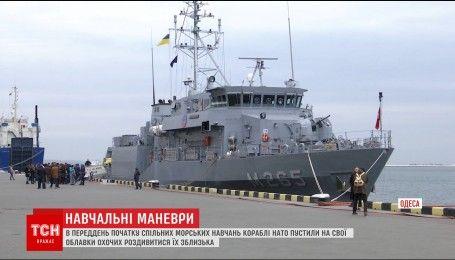 Корабли НАТО пустили на свой борт одесситов