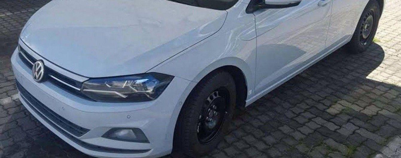 В Сети появились фото нового Volkswagen Polo