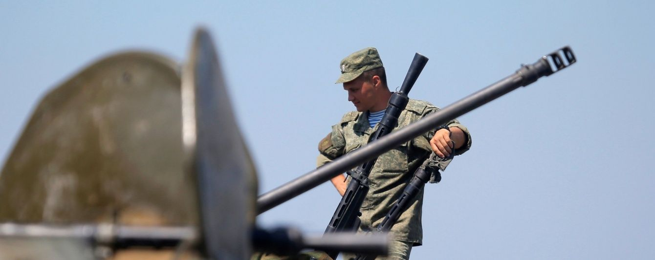 Россия перебрасывает в Крым 2,5 тысячи десантников и 600 единиц боевой техники