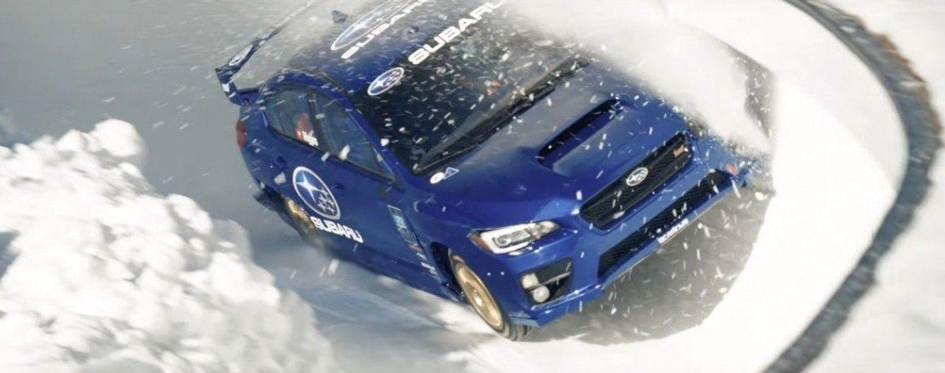 Subaru WRX STI проехался по бобслейной трассе