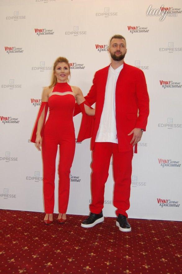 Тамерлан и Алена Омаргалиева на красной дорожке церемонии «Viva! Самые красивые»_1