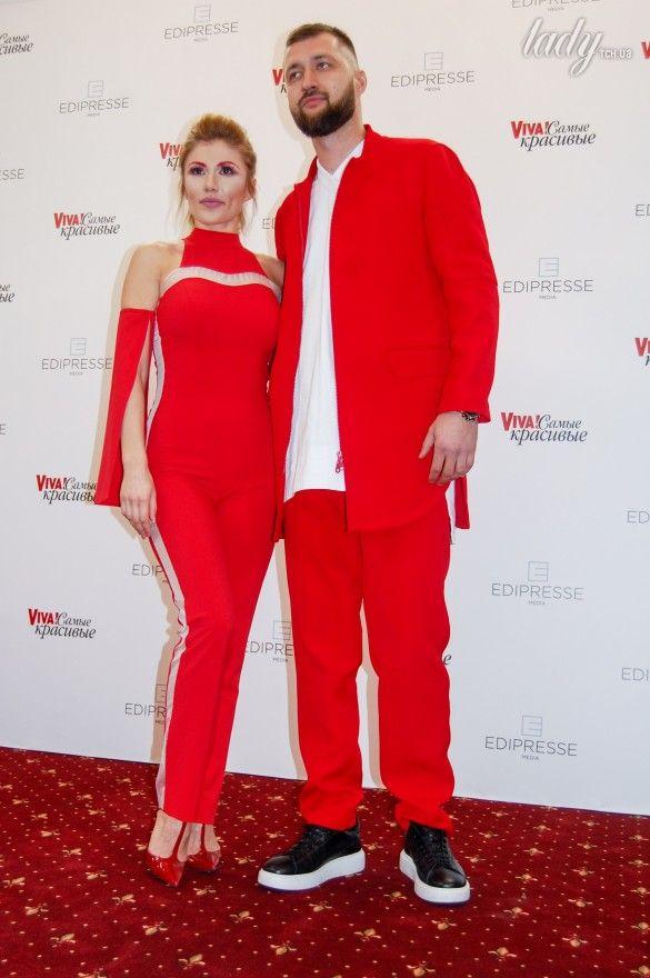 Тамерлан и Алена Омаргалиева на красной дорожке церемонии «Viva! Самые красивые»_3