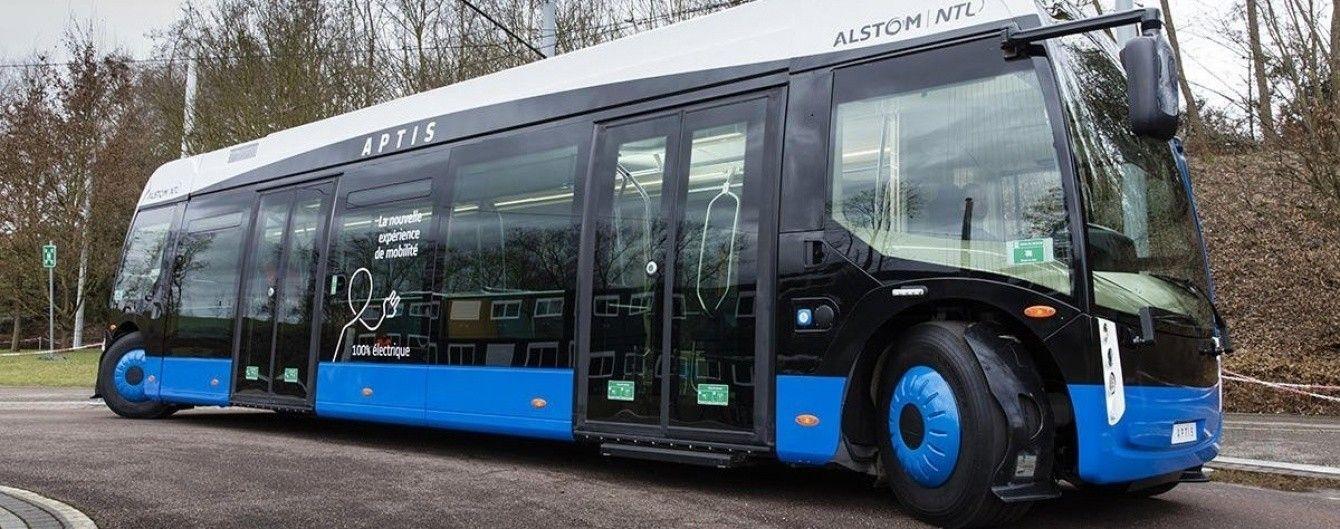 Французы представили инновационный автобус Aptis