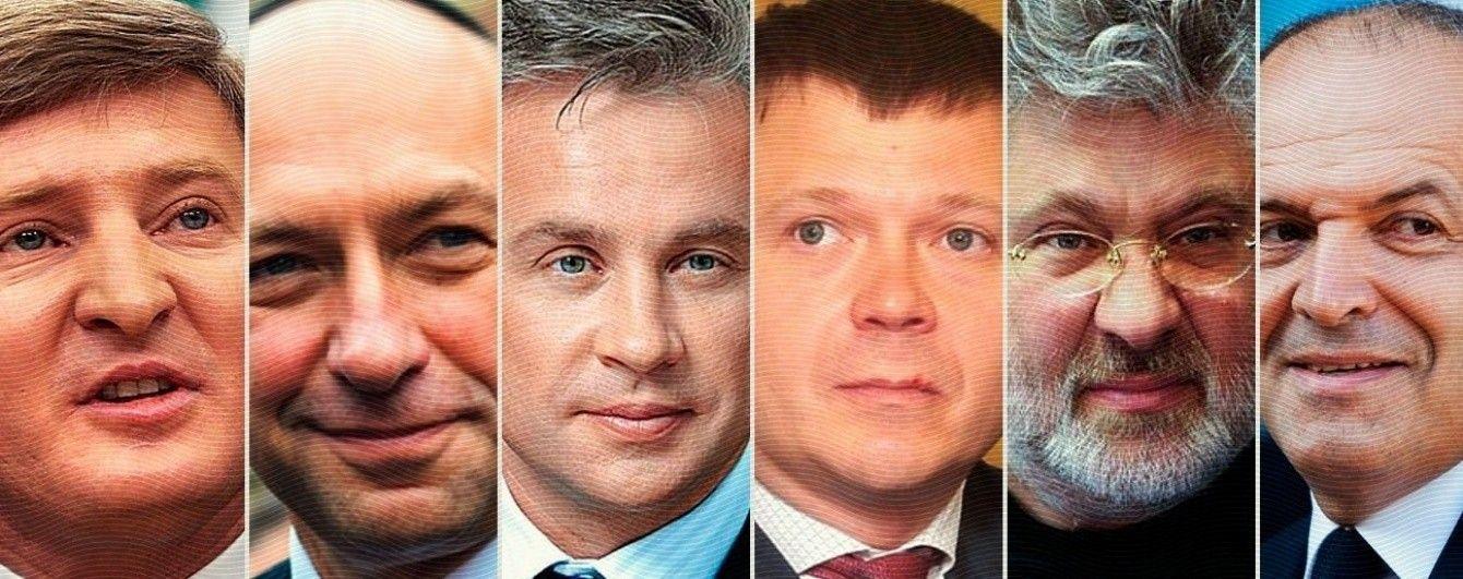 Шестеро українців потрапили до рейтингу найбагатших мільярдерів за версією Forbes. Інфографіка