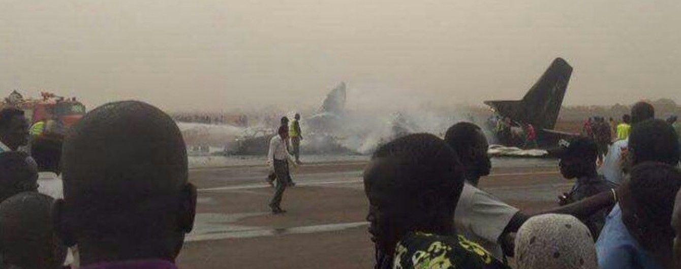 У Південному Судані розбився літак з 44 пасажирами на борту