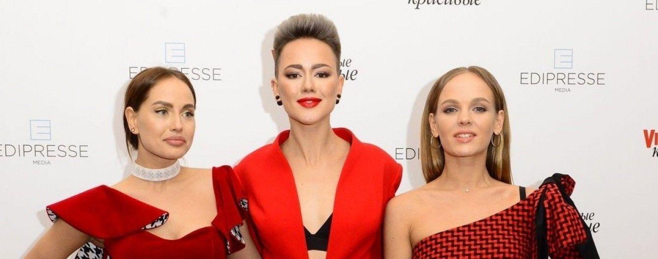 """Красотки в красных нарядах: украинские звезды на церемонии """"Viva! Самые красивые-2017"""""""