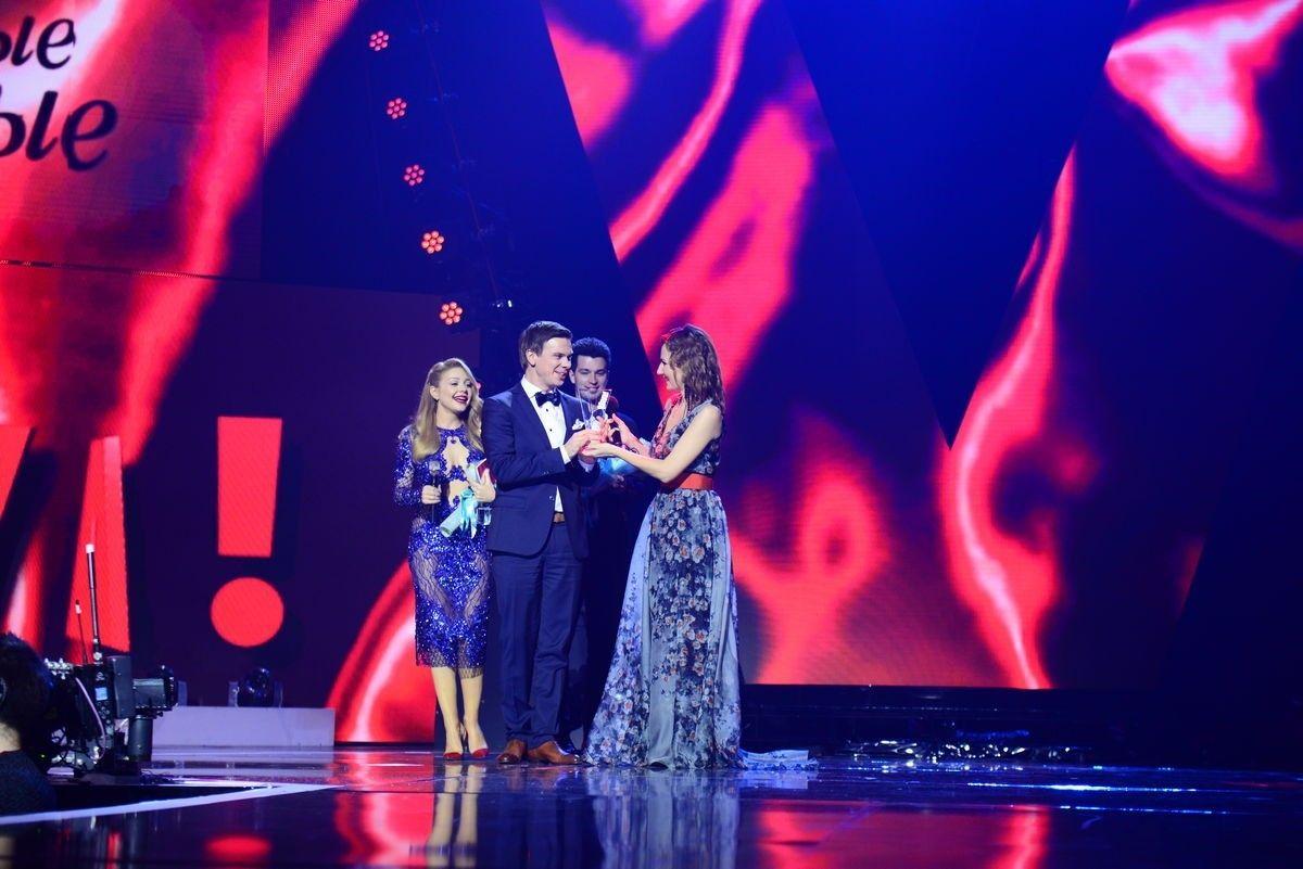 Победители церемонии награждения «Viva! Самые красивые-2017» Дмитрий Комаров и Тина Кароль